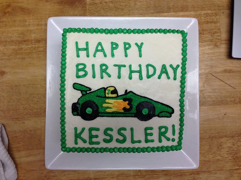 birthday cake for kessler