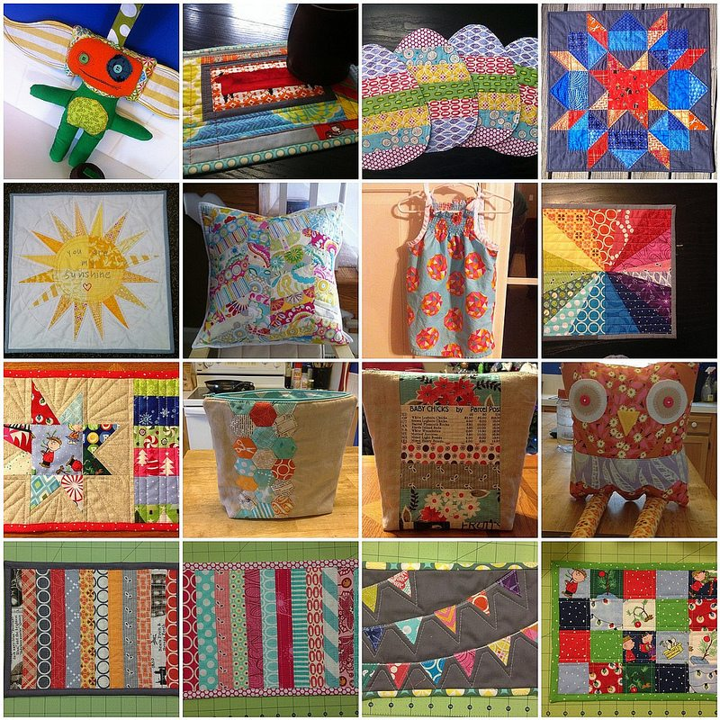 2012 smaller sewing projects