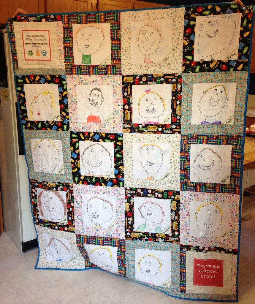 kindergarten class quilt.